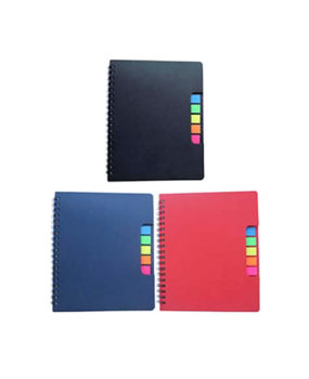 NB-880 Notebook, with Sticky Notes