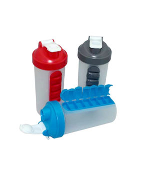 PP-739 Plastic Bottle, with Pillbox