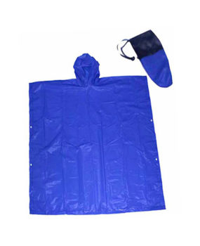 RC-2005 Adult Rain Poncho, with Pouch