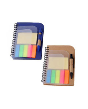 RN-825 Notebook, with Sticky Notes