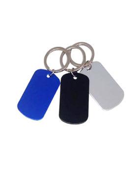 TAG-537 Dog Tag Keychain