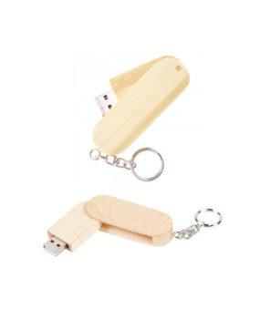 USB-175 Wooden Swivel USB