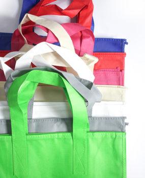 HE-017 Zipper Ecobag Colors