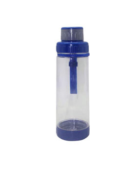 AB-5319 Bottle with Strainer, Blue