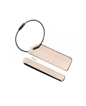 LT-028-1 Stainless Bag Tag