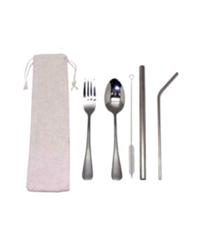 STRAW-107SF Reusable Straw & Utensils Set