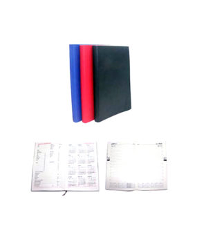 DP-3825 Leatherette Planner inside