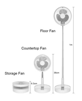 FAN-7200 Foldable Fan